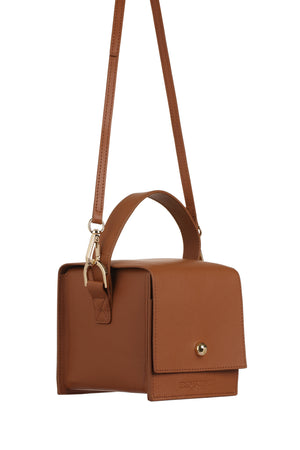 DUMBO Caramel Leather Handle