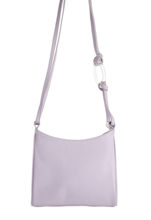 Shield Lavender Leather bag