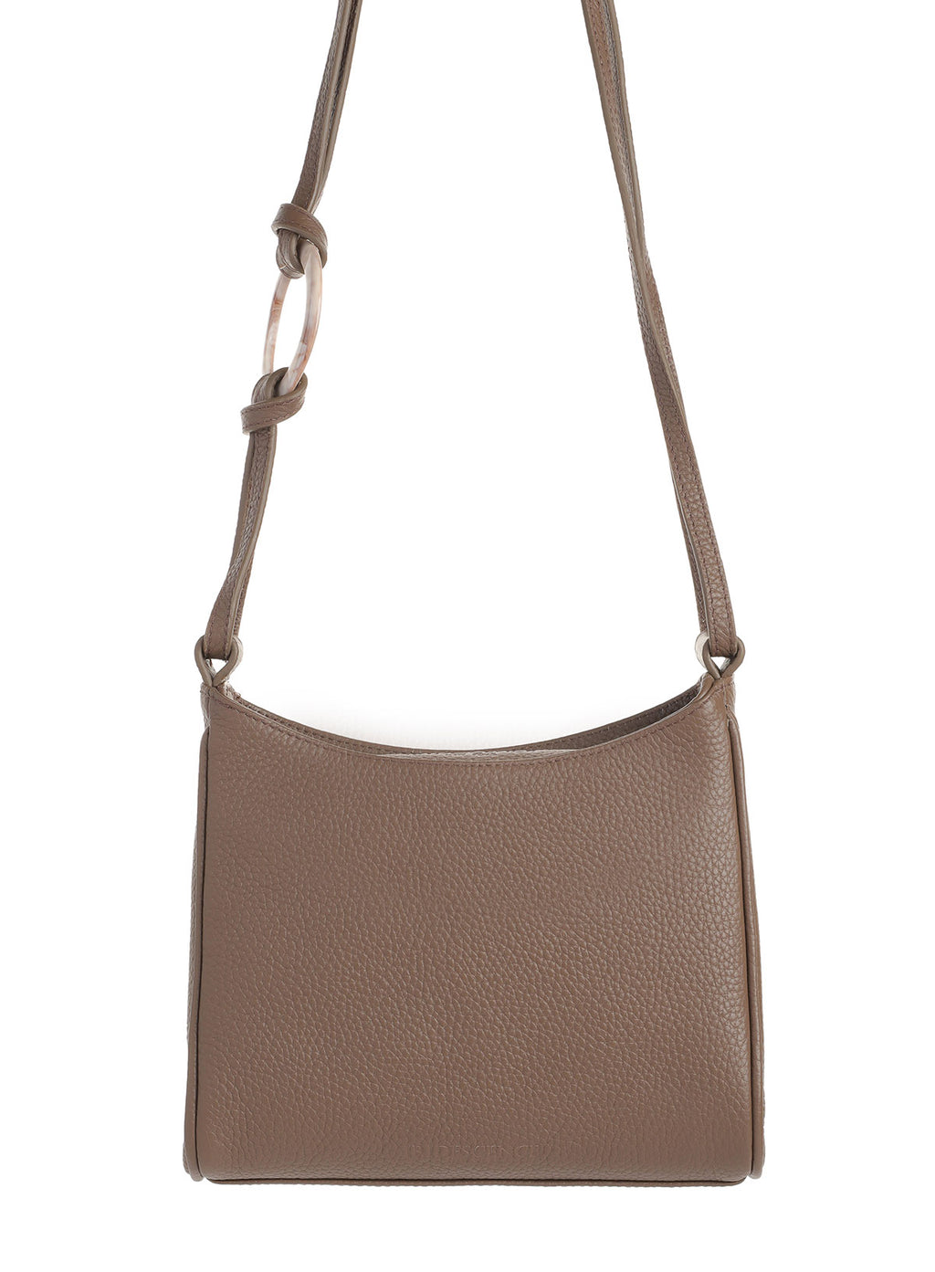 Shield Walnut Leather bag