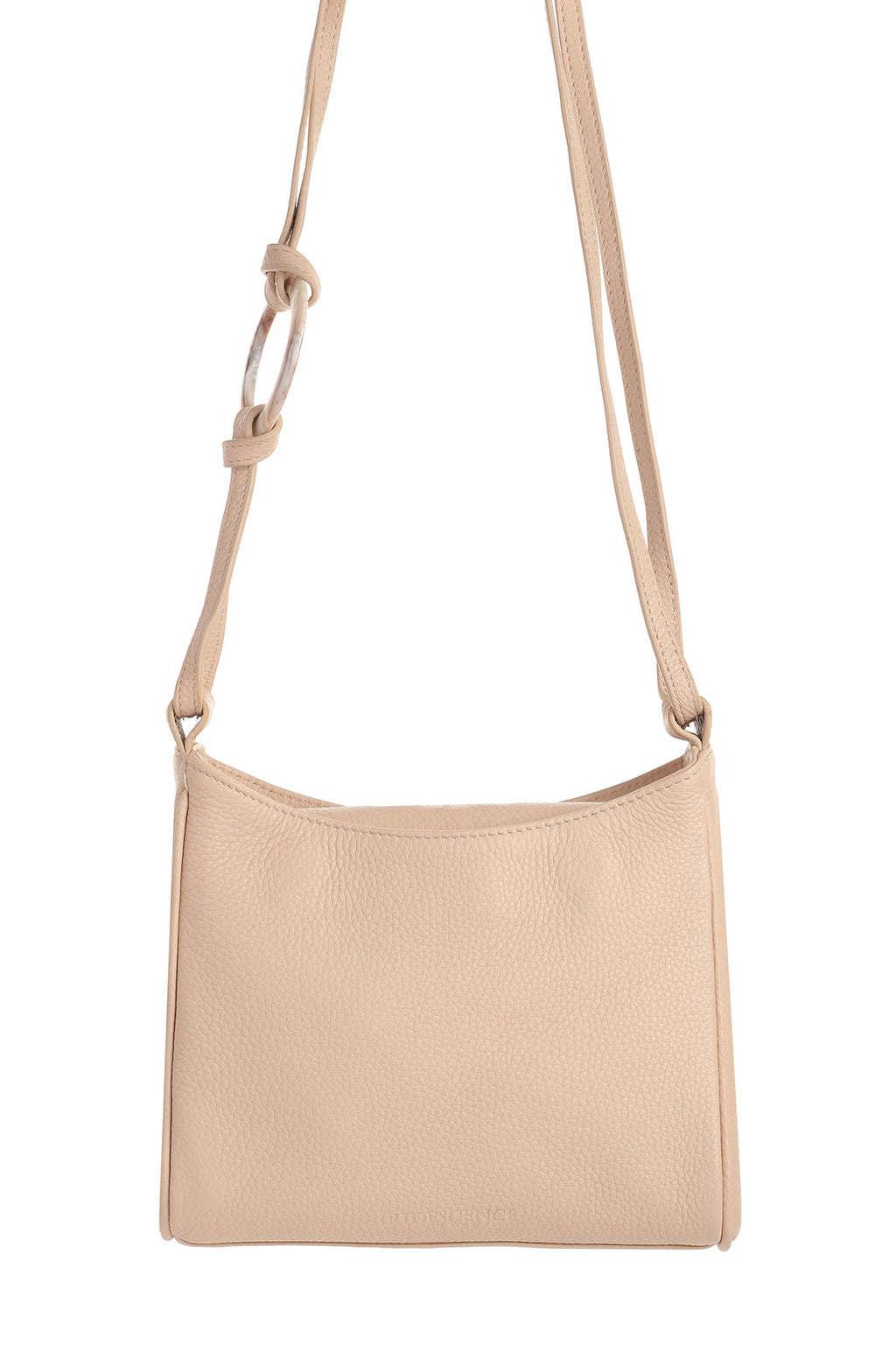 Shield Sun-warmed sand Leather bag