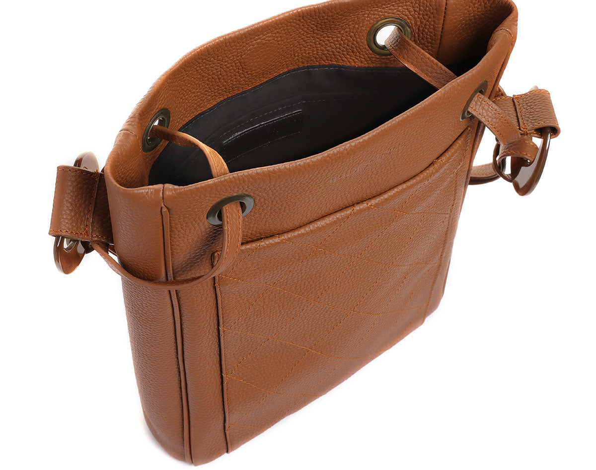 Baobab Rust Leather bag