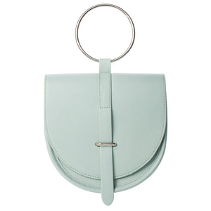 O-Ring Mint Leather Handbag