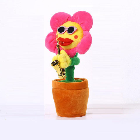 Annoying Flower Singing Cat Toy