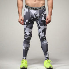 Camouflage Compression Tights Sports Leggings