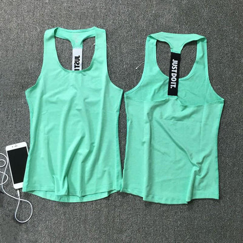 Sleeveless Gym Sports Tank Top