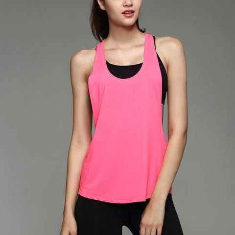 Quick Dry Yoga Loose Sleeveless Vest