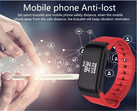 Fitness Tracker Smart Wristband Watch (Fast Shipping)