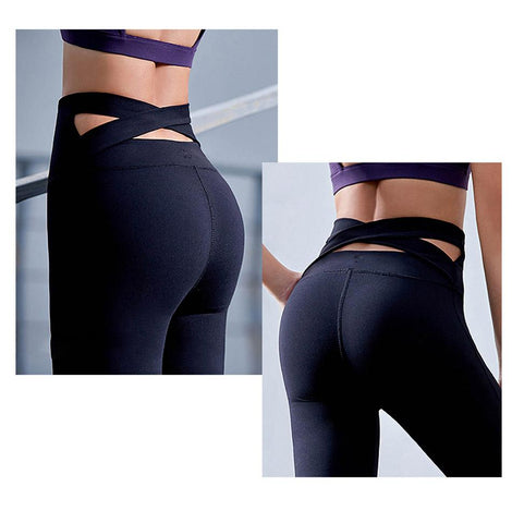 Charming-Self-Fashionable-Collections-Trendy-Stylish-Affordable-Sporty-Black-Strap-Yoga-Pants