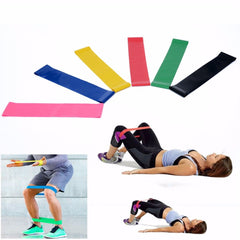 6 pcs. Elastic Fitness Yoga Loop Band