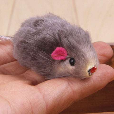 1pc Mini False Mouse Cat Toy