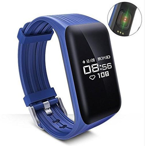 Waterproof Heart Rate Tracker Smart Watch