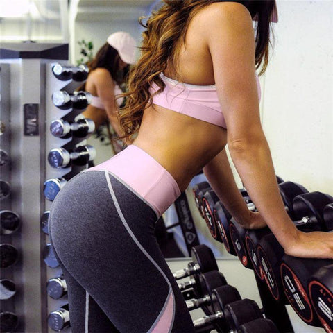 Sexy Hip Heart Sporting Leggings