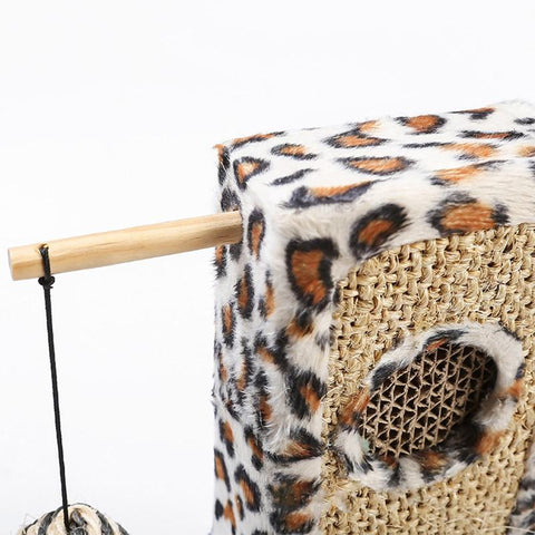 Sisal Cat Scratch Pillar Toy