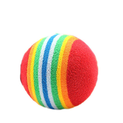 1PC Colorful Cat Toy Ball