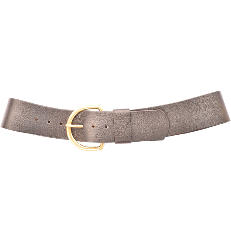 Basilia Soft Leather Low Waist Belt