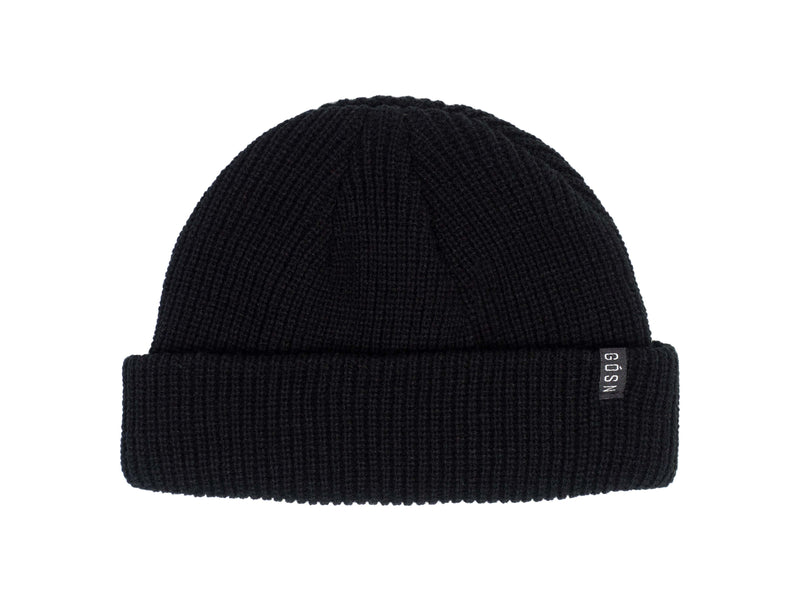 Fisherman Beanie Black