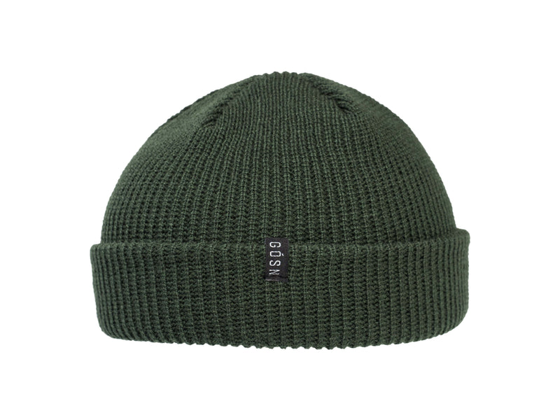 Fisherman Beanie Olive Green