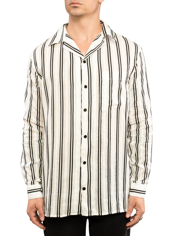 Tencel Stripe Shirt
