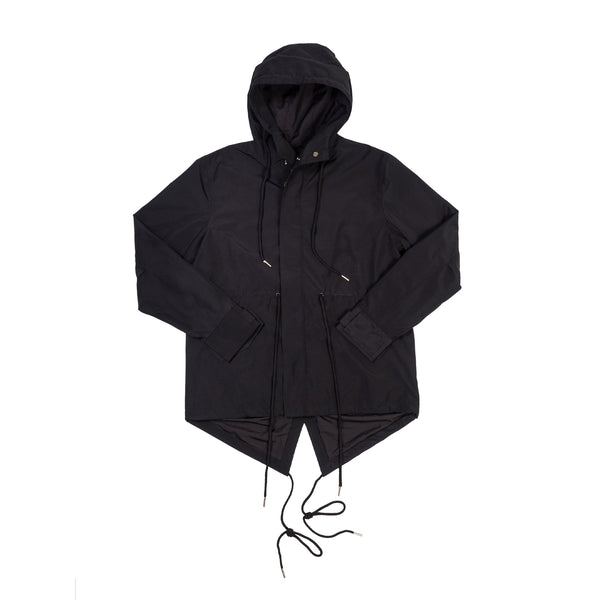 Preorder Fishtail Parka Black