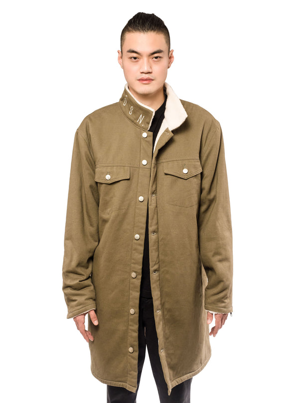 Wester Coat Olive Twill