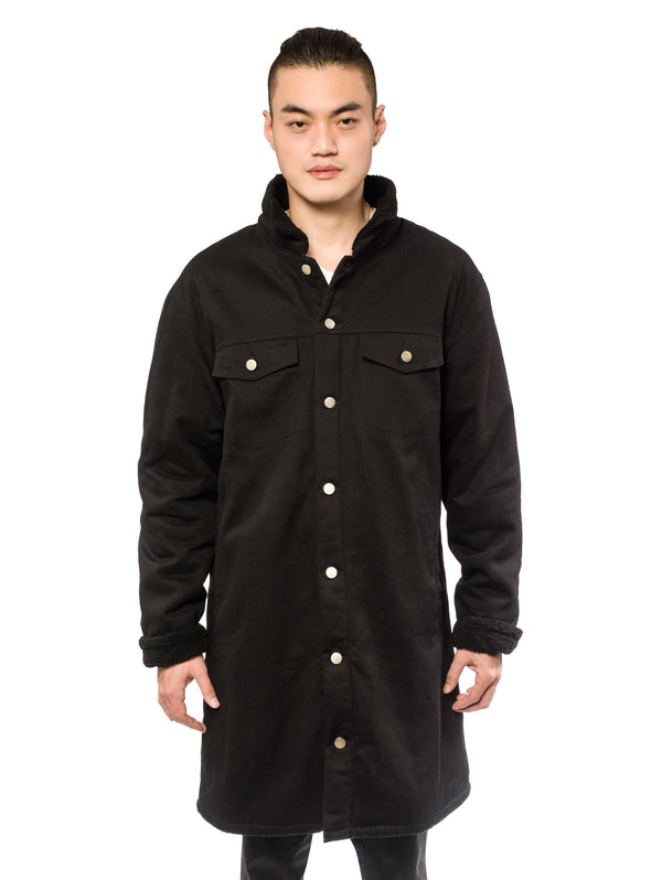 Preorder Wester Coat Black Twill