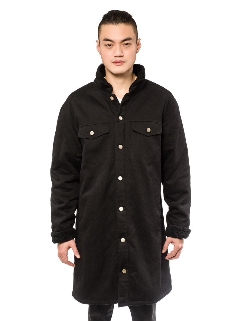 Wester Coat Black Twill