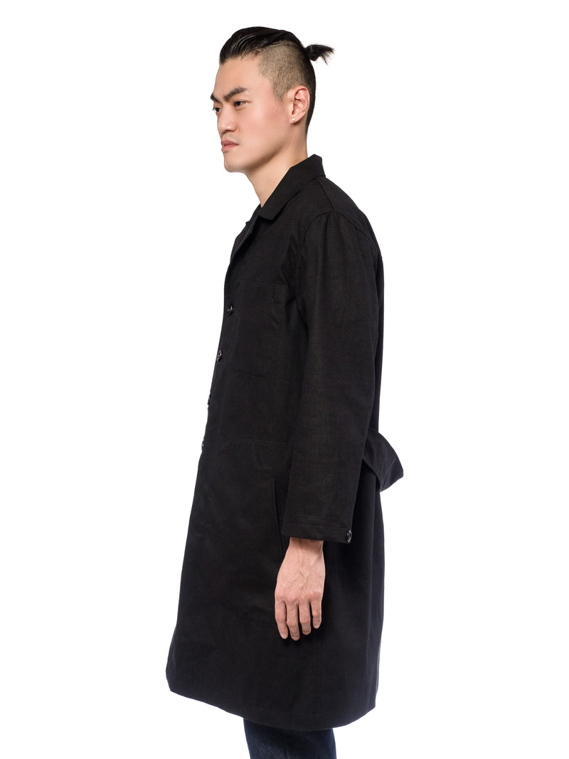 Atlas Trench Coat Black