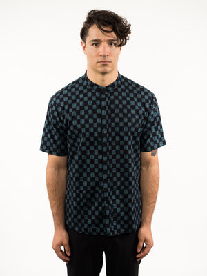 Workman Button Down - Short Sleeve Print
