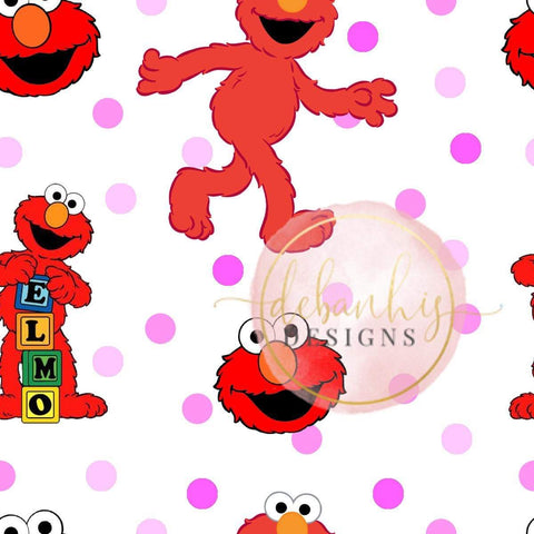 Elmo Crop Top