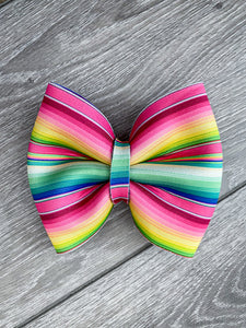 Colorful Serape Bow