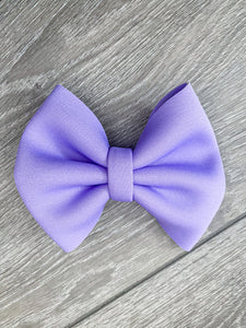 Neon Purple Bow