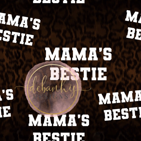 Mama's Bestie Crop Top