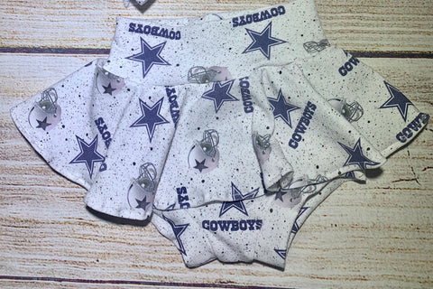 Cowboys Skirted bummies