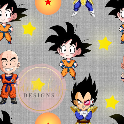 Dragon Ball Z Harem Knee Length Pants