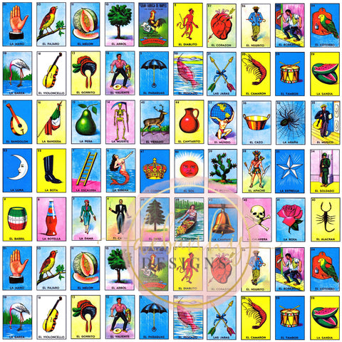 Loteria Skirted Bummies