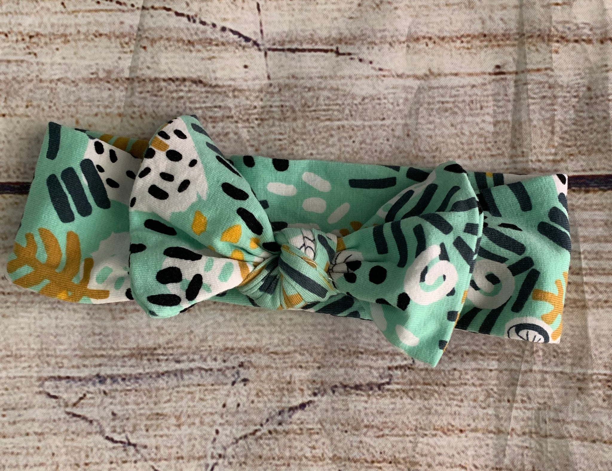 Roar knot bow headwrap
