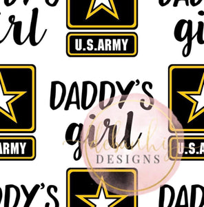 army daddy's girl bummies