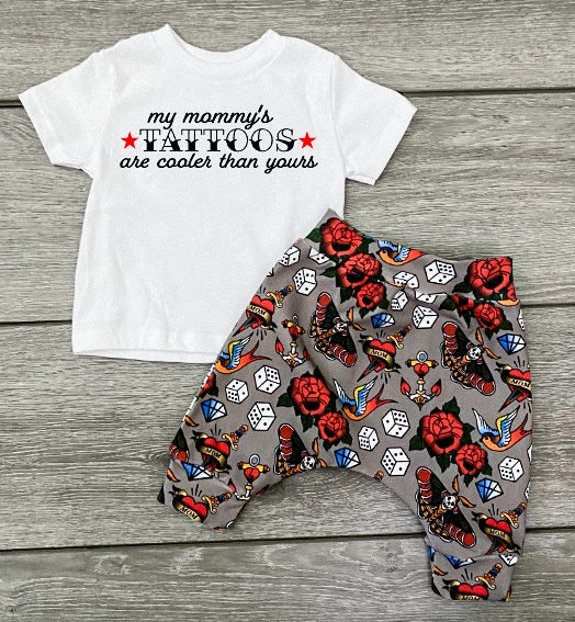 My Mommy's Tattoos Tee (kids sizes)