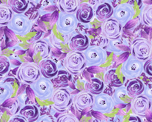 purple  floral bummies
