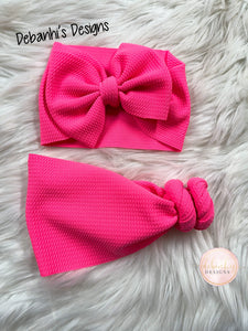 Neon Pink headwrap