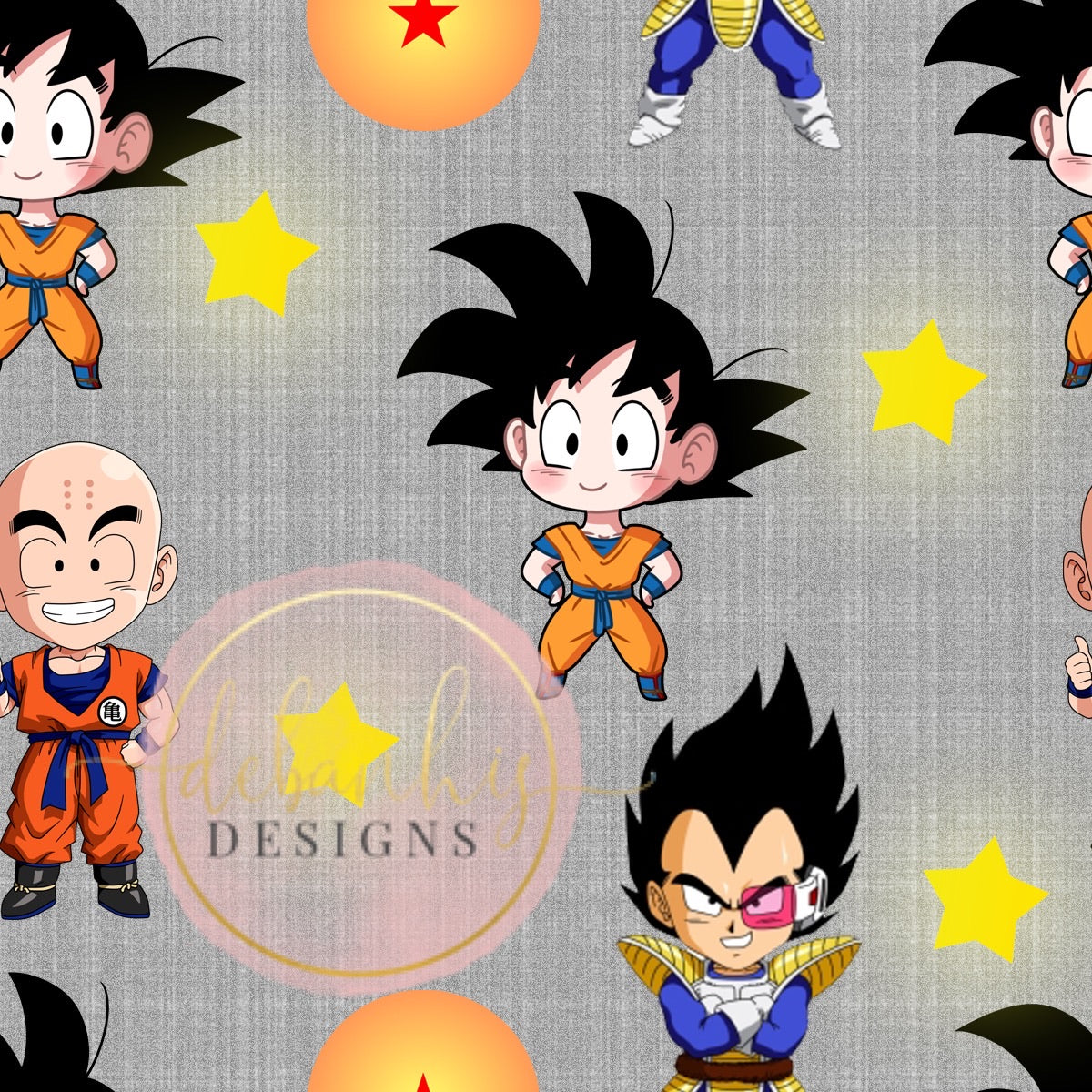Dragon Ball Z Bummies