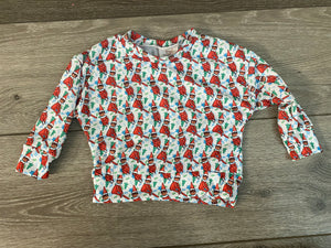 Elf on the shelf Slouchy sweater