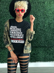 Traits of a Black Woman Tee