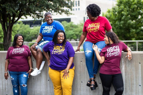 Personally She HBCU Educated Tee custom colors