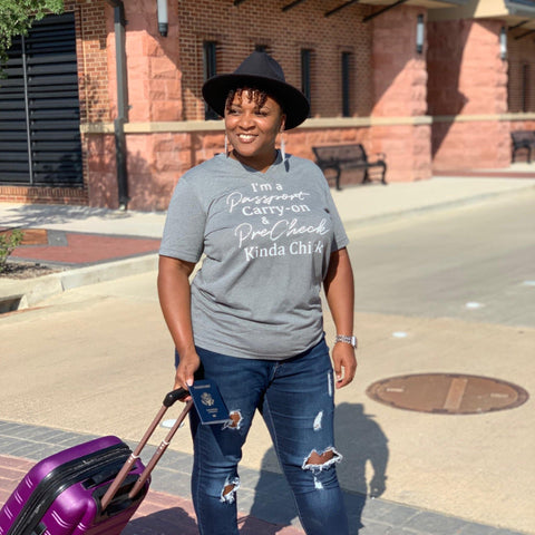 Passport Carry-on & PreCheck Tee - Personally She