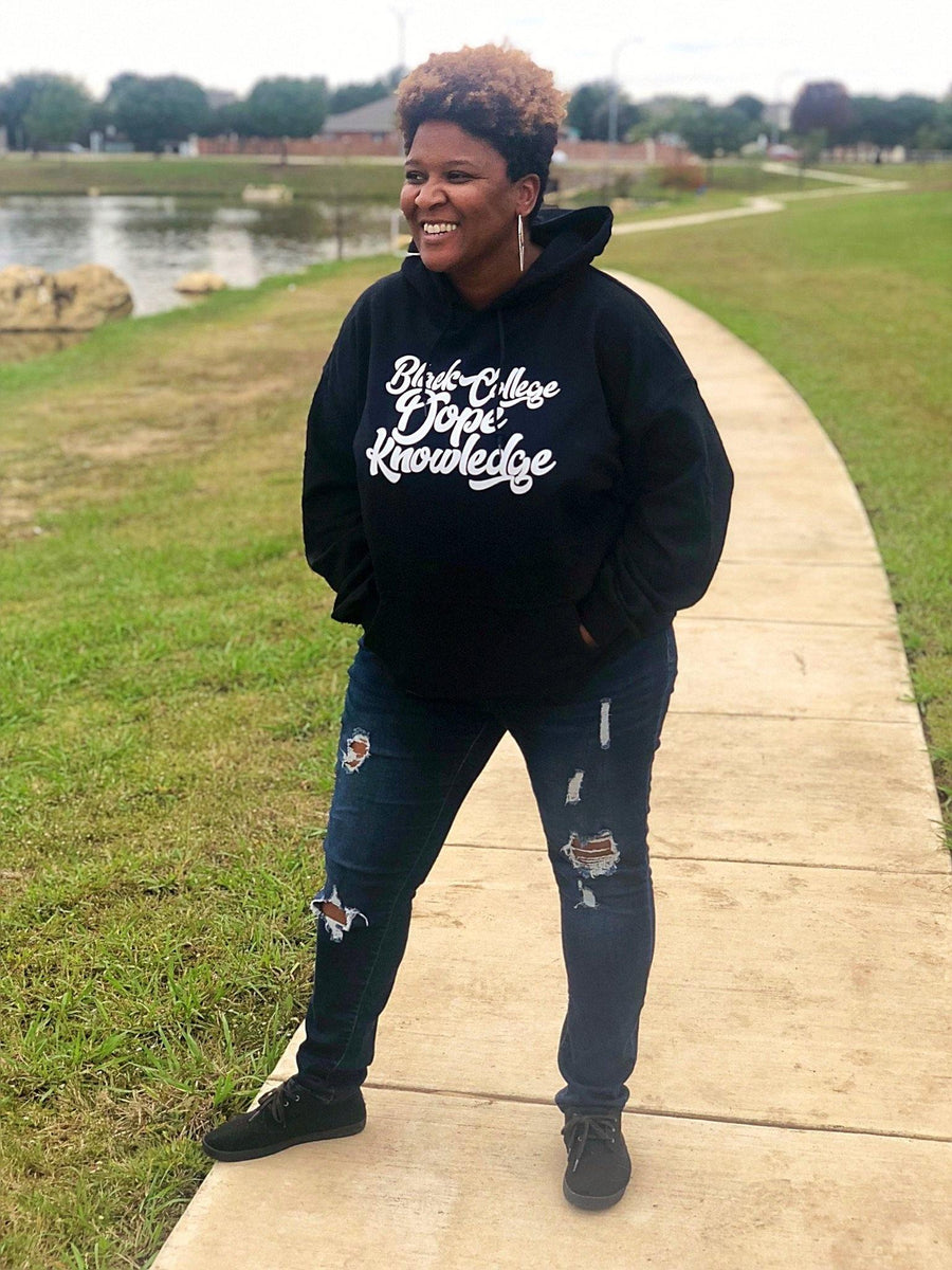 Black College Dope Knowledge Hoodie - Personally She