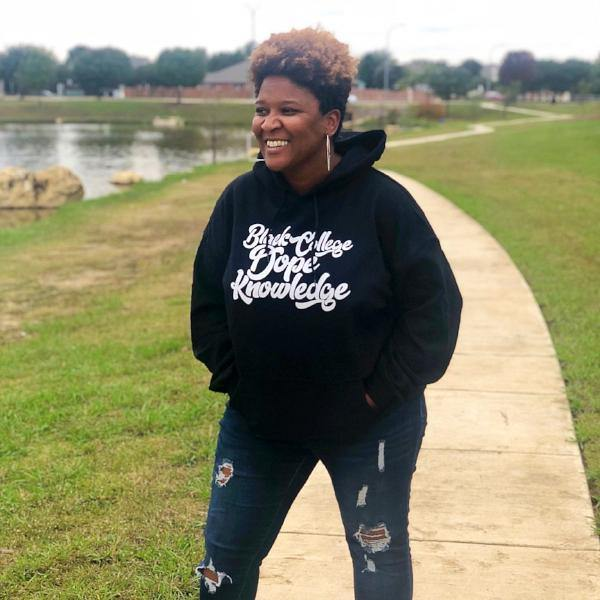 Black College Dope Knowledge Hoodie