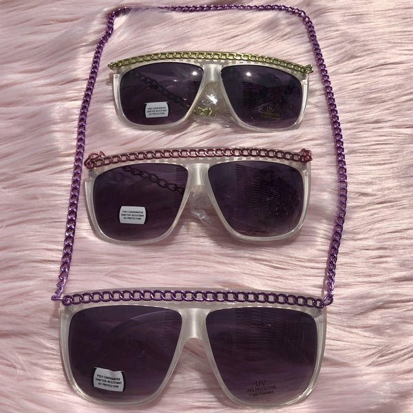 Chained Retro Shades