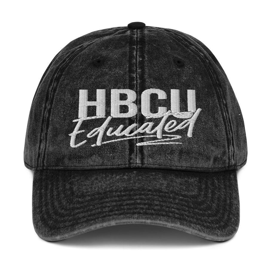 HBCU Educated Vintage Cap