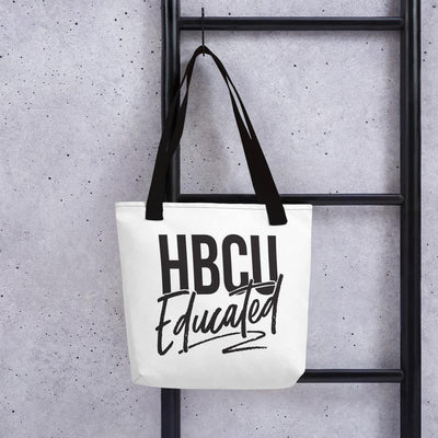HBCU Educated Tote bag - Personally She